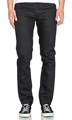 Nudie Jeans Grim Tim in Dry Dark Mind