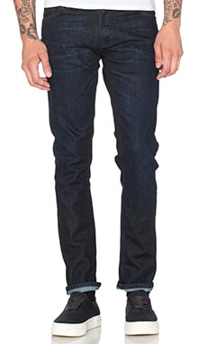 Nudie Jeans Grim Tim in Navy Thunder