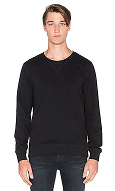 Nudie Jeans Backbone Sweatshirt in Black