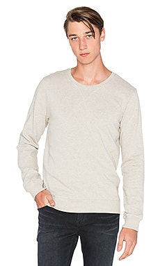 Nudie Jeans Backbone Sweatshirt in Greymelange