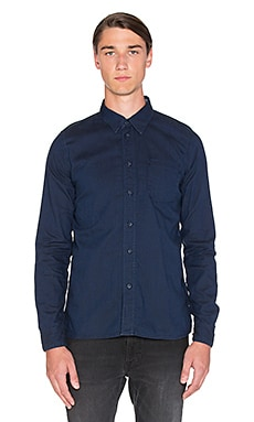 Nudie Jeans Henry Dark Oxford in Indigo