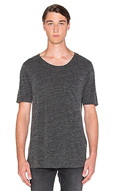 Nudie Jeans Roundneck Pocket Tee in Antracite