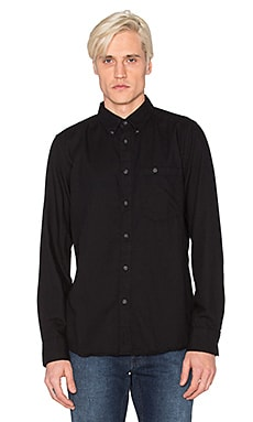 Nudie Jeans Stanley Shirt in Black