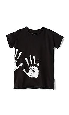 핸드 프린트 티셔츠