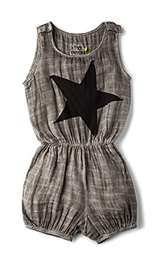 Star Patch Muslin Yoga Overalls