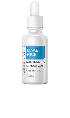 МАСЛО ДЛЯ ЛИЦА MAKE NICE MOISTURIZING OIL Nurse Jamie $75