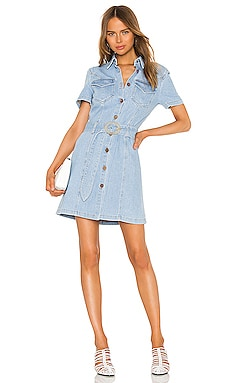Mora Shirt Dress Nanushka $189