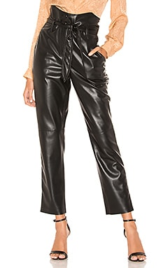 Ethan Vegan Leather Pant Nanushka $475