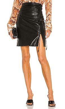 Zow Vegan Leather Skirt Nanushka $445