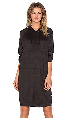 NYTT Long Sleeve Hoodie Dress in Black