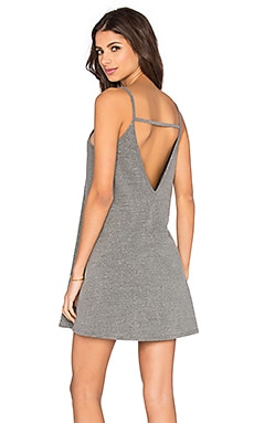 Cher Dress in Heather Grey
