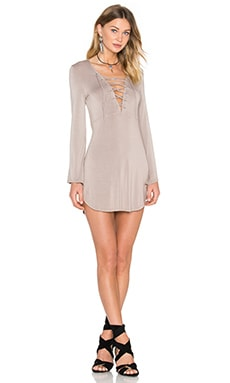 Davina Dress in Taupe