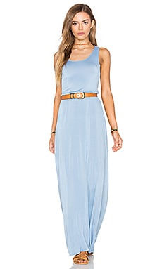 NYTT Anala Maxi Dress in Light Chambray