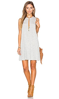 NYTT Keona Dress in Dotted Grey