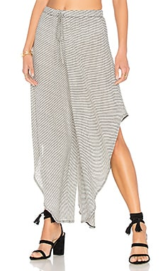 Slit Pant in Black & White