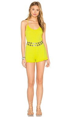 Aide Romper in Citron