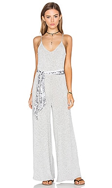 NYTT Lily Jumpsuit in Dotted Grey