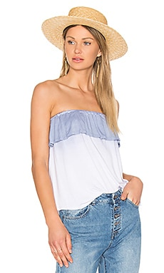 Ruffle tube top - NYTT