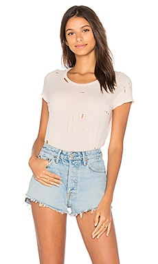 Distressed Cotton Tee