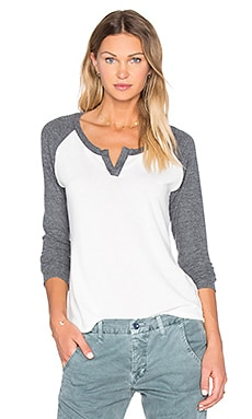 Henley Baseball Tee in