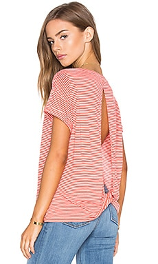 NYTT Venus Top in Red Stripes