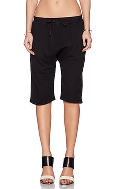 OAK Karate Sweatshort in Black