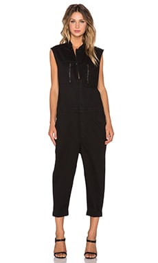 OAK Racer Jumpsuit in Black