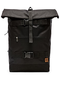 Obey Revolt Rolltop Bag in Black