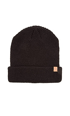 Obey Ruger Monogram Beanie in Black