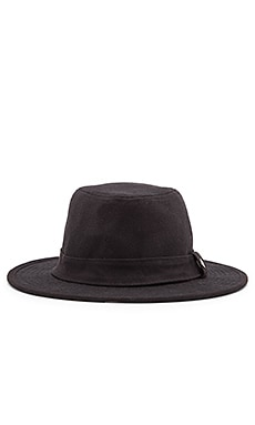 Obey Aaron Brim Hat in Black