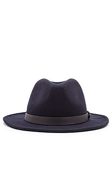 Obey Winston Brim Hat in Navy