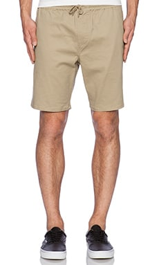 Obey Legacy Short in Khaki
