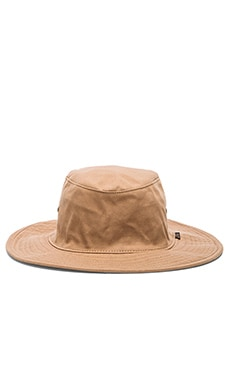 Obey Joshua Hat in Dark Khaki