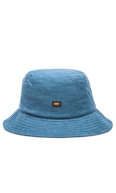 Obey Grandeur Bucket Hat in Blue