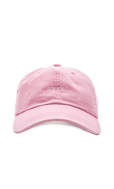 Obey O.B.E.Y. 2 Hat in Pink