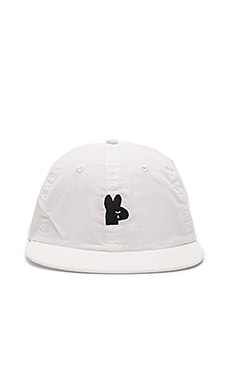 Obey Frank 6 Panel in White
