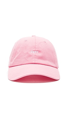 Obey Jumble Hat in Pink