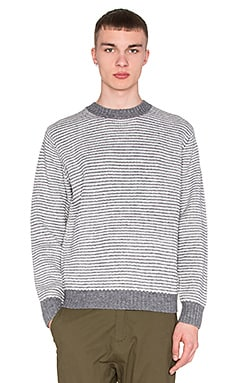 Obey Marcus Sweater in Heather Grey Multi