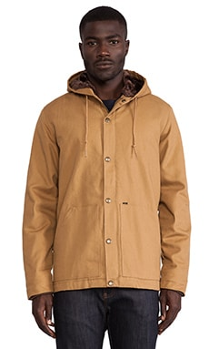 Obey Austin Jacket in Caramel