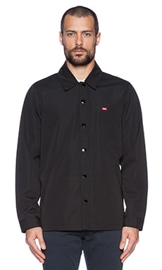 Obey Enforcement Jacket in Black