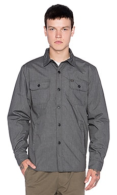 Obey Barstow Jacket in Graphite