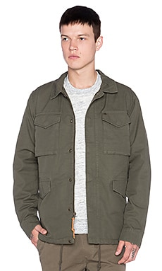 Obey Iggy Jacket in Dark Army