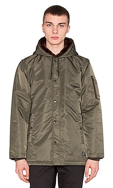 Obey Winston Jacket in Military Olive
