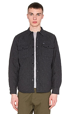 Obey Lister Jacket in Heather Charcoal