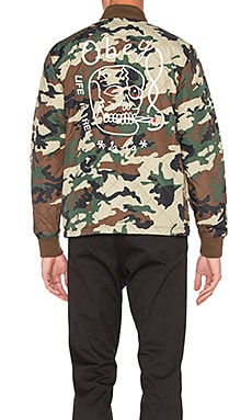 Obey Savage Hell Jacket in Camo