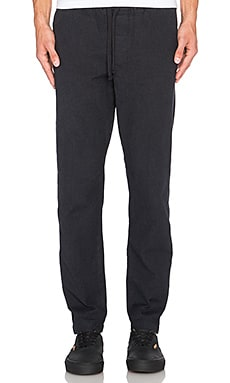 Obey Travelers Scatter Twill Pant in Black Multi