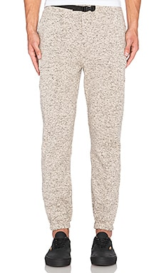 Obey Conway Sweatpant in Heather Cream