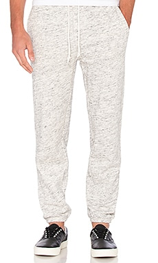 Obey Monument Fleece Pant in Heather Oatmeal