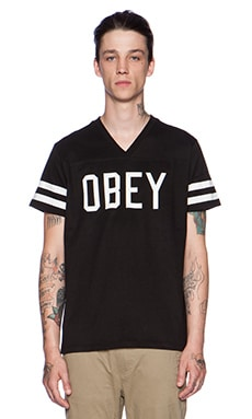 Obey Maddox Tee in Black