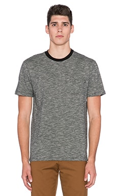 Obey Revolt Pocket Tee in Black